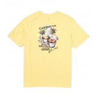 Caribbean Grill And Chill Short-Sleeve Tee Light Yellow Tailored FORNSUR
