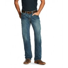 Ariat Young Men's M3 Loose-Fit Boundary Straight-Leg Jeans Gulch ZKEFXJU