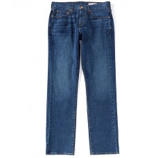 Cremieux Jeans Relaxed Straight-Fit Medium Blue Wash Jeans Blue Length Casual CJZKCNS