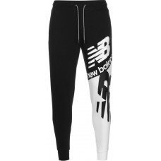 New Balance Athletics Splice Young Men's sweat pants black white Outdoor Ships Free KHNO705