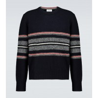 Boy Thom Browne - Wool and mohair-blend sweater 6OXGD6328