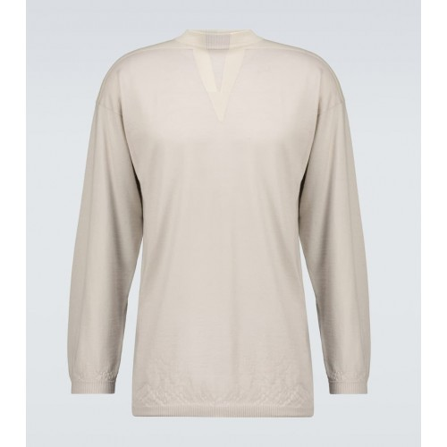 Boy's Rick Owens - Long-sleeved Tunic sweater On Sale L23A27122