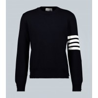 Mens 4-Bar Cashmere Pullover Sweater Thom Browne - BCSYW5477