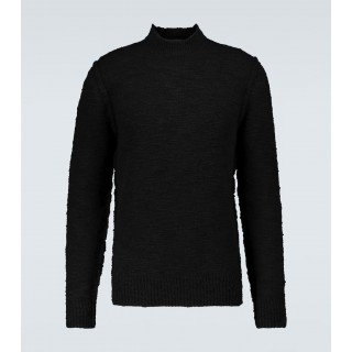 Young Men's Dolce & Gabbana - Wool-blend mock neck sweater 1920's Selling Well VG2ND9261