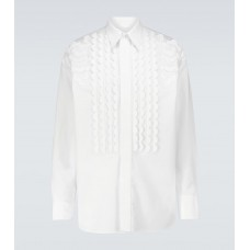 Boy Valentino - Valentino long-sleeved embroidered shirt Hot Sale 4IHYN1521