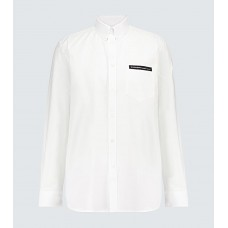 Boy's Givenchy - Cotton Oxford shirt with webbing Valentine T6P9Q6251