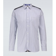 Boy's Junya Watanabe - Striped and checked cotton shirt Factory 3H6ZV3626