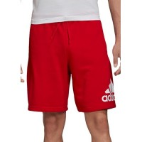 adidas Mens Shorts Must Haves Badge of Sport Shorts SCARLE/WHI for sale near me ZGBV560