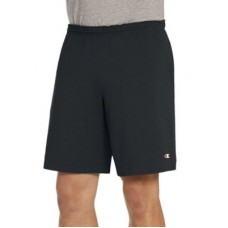 Champion® Men's Active Shorts Classic Jersey Shorts Black outfits XUFC696
