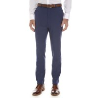 Calvin Klein Young Men's Solid Blue Suit Separate Pants Blue Lightweight good quality GPMD512