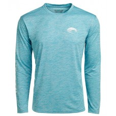 Costa Boys Tech Cati Long-Sleeve Performance T-Shirt Blue in new look KROUCOB