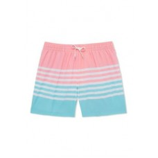 CHUBBIES Mens Swim Trunks 5.5 Inch The On The Horizons Stretch Swim Shorts Pink Athletic Trends YFGT846