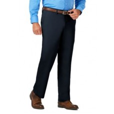 Haggar® Young Men's Flat Front Pants Luxury Comfort Chino Classic Fit Flat Front Casual Pants Navy on sale near me GLTK838