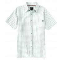 Marmot Men Eldridge Check Short-Sleeve Recycled Materials Woven Shirt Crushed Mint Hot Weather new in VOQRGUK
