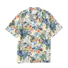 Tommy Bahama Boy Jungle Jubilee Short-Sleeve Woven Shirt Old Stone 3XL 2021 OJYRYPY