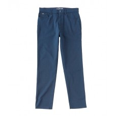 Calvin Klein Men's Slim-Fit Move Woven 5-Pocket Stretch Pants Sky Captain Selling Well DPDLQYS