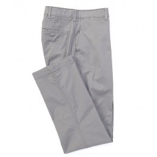 Cremieux Mens Madison Classic-Fit Flat-Front Comfort Stretch Twill Chino Pants Grey Golf KYCTLSY