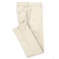 Cremieux Mens Soho Slim-Fit Flat-Front Twill Comfort Stretch Casual Pants String IHCTJRP