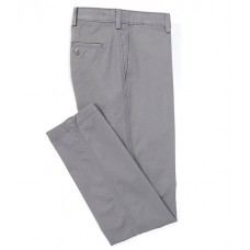 Cremieux Soho Slim-Fit Flat-Front Twill Comfort Stretch Casual Pants Grey Elasticated Waist the best NIGAUYH