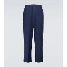 Mens King and Tuckfield - Loose-fit chino pants CN8FM2153