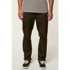 O'Neill Men The Standard Fit Flat-Front Chino Pants Cocoa Outdoor YMQULEF