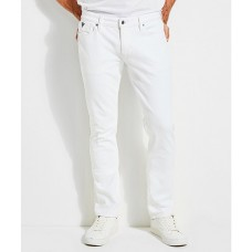Guess Men Slim Tapered White Jeans White Softest lifestyle GPRRHPO